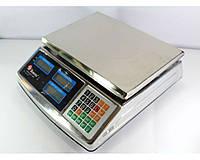 Весы торговые ACS 50kg/5g MS 968 Domotec 6V металл ZPV