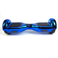 Мини сигвей Smart Balance Wheel 6.5 Хром (синий)