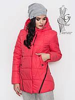 Женская курточка весенняя Инга с капюшоном