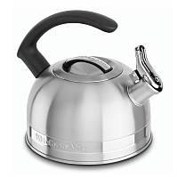 """Чайник KitchenAid 1.89 л. c """"C"""" ручкой и свистком  Stainless Steel Finish"""