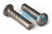 DIN 660 Заклёпка под молоток с полукруглой головкой нержавеющая ( от М2 до М6) А2
