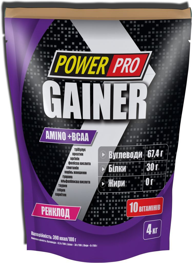 Power Pro Gainer 4 kg