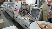 Кромкооблицовочный станок Nanxing MFB(Z)80 б/у 13г. промышленный проходной: полный цикл 24м/мин.