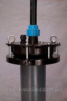 Оголовок  скважинный d125- d140 мм вакумный