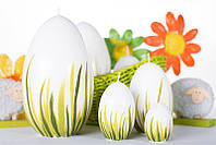 Свеча яйцо писанка пасхальное 45х65 мм