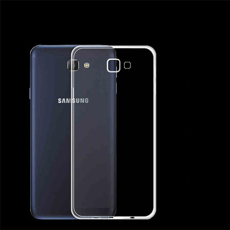Силиконовый чехол Utty Ultra Thin на Samsung Galaxy J5 Prime SM-G570 Clean Grid Transparent