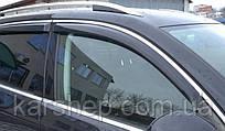 Дефлекторы окон  Volvo S80 2006 - С Хром Молдингом