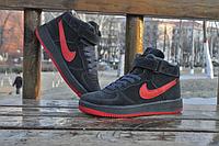 Кроссовки мужские Nike air force замшевые 41р 42р
