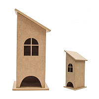 Чайный домик со скошенной крышей МДФ 100х100х260мм  Rosa Talent