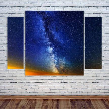 """Модульная картина """"Млечный путь"""", фото 2"""