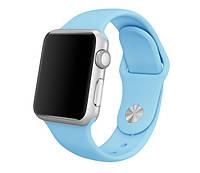 Спортивный ремешок для Apple Watch 38mm / 130mm - Sky-Blue