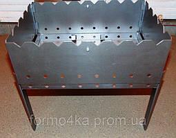 Мангал на 8 шампуров -чемодан