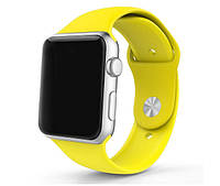 Спортивный ремешок для Apple Watch 38mm / 110mm - Yellow