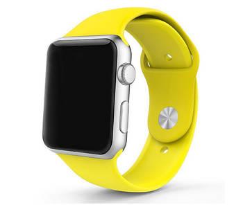 Спортивный ремешок Primo для Apple Watch 38mm / 40mm - Yellow S