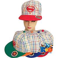 Детская летняя кепка арт.26 (вышивка) , для  мальчика (р-р 52-54)