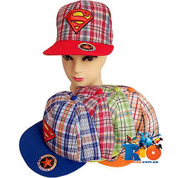 Детская летняя кепка арт.29 (вышивка) , для  мальчика (р-р 52-54)