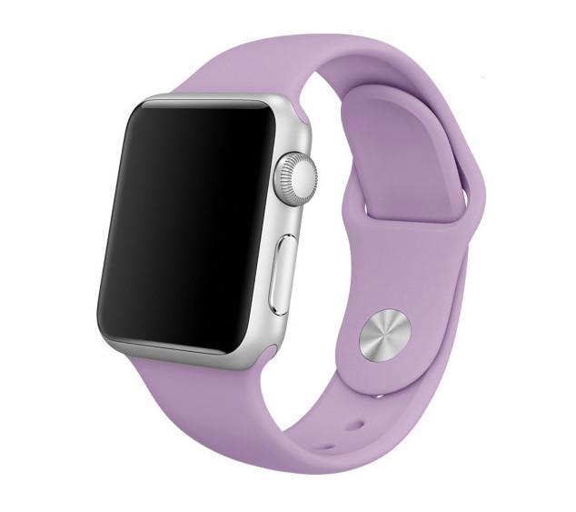 Спортивный ремешок Primolux для часов Apple Watch 38mm / 40mm (110mm) - Purple