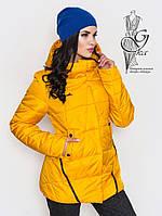Женская курточка весенняя Инга-1 с капюшоном