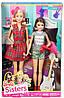 """Набор кукла Барби и Скиппер серия 2015 """"Барби и ее сестры"""" Barbie"""