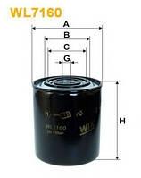 Фильтр масляный WIX WL7160 Ивеко ЕвроКарго 1 Евро 1/2 (Iveco EuroCargo 1) 500038747