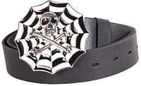 Изысканный кожаный ремень  для мужчин под джинсы Topgal blx90270 ДхШ: 130х4 см, черный