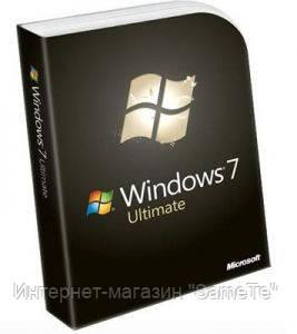 Windows Microsoft 7 Ultimate|Rus|32-bit|1PK|OEM