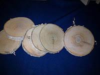 Срез круглый береза 85-95 мм