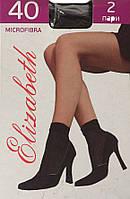 """Носочки микрофибра  """"Elizabeth"""" 40 den черные"""
