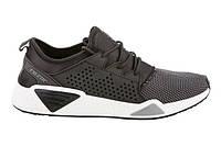 Мужские легкие черные кроссовки для бега, текстиль Razor