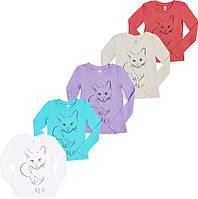 Блузочка для девочки Котик (6-16 лет)