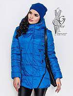 Женская курточка весенняя Инга-2 с капюшоном