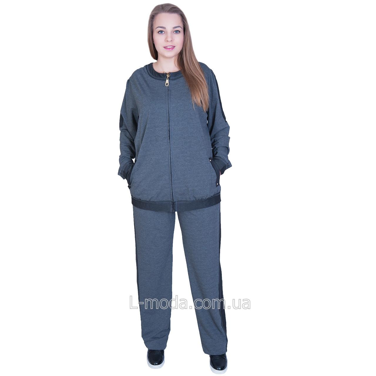 c1069cc6 Спортивный костюм женский с длинным рукавом супер батал: продажа ...