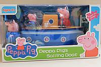 Игровой набор корабль Peppa Pig's sailing boat 27*14*18 см
