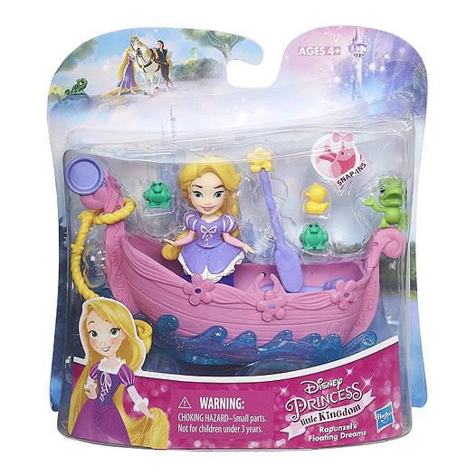 Disney Princess Мини королевство принцесс Дисней Рапунцель и лодка грез ( Набор для игры в воде Hasbro B5340)