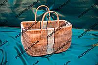 Плетеная пляжная сумка большая