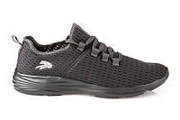 Мужские легкие черные кроссовки для спорта, сетка текстиль Razor