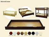Кровать деревянная Л-109, фото 3