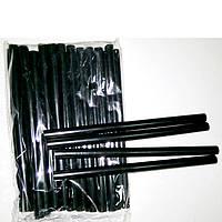 Клей для клеевого пистолета силиконовый черный 19см/1см