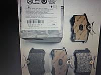 Задние тормозные колодки AUDI A2, AUDI A4, SEAT CORDOBA, SEAT IBIZA III, IV, V. Volkswagen GOLF III