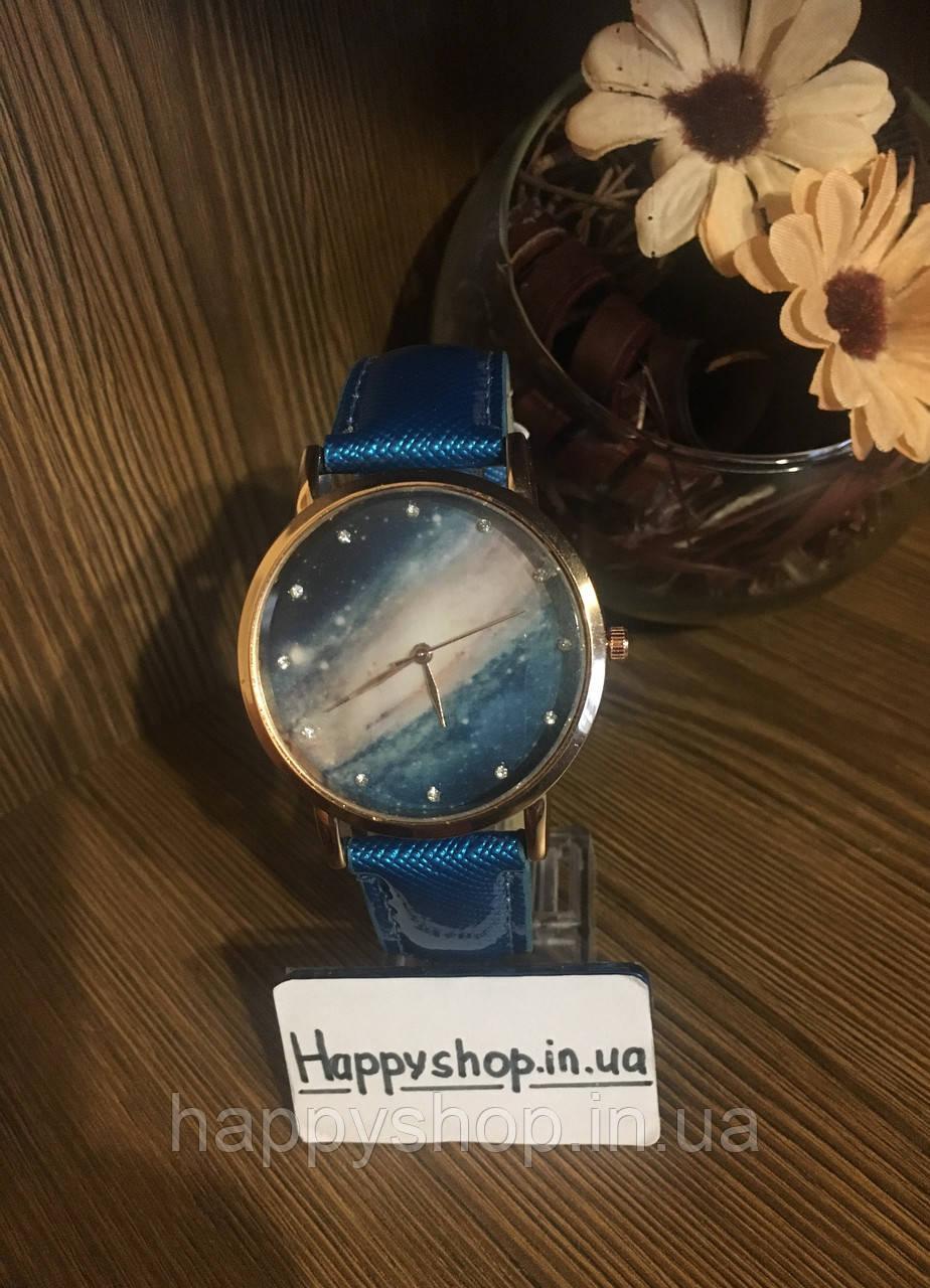 Часы женские Космос (бирюзовые)