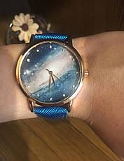 Часы женские Космос (бирюзовые), фото 3
