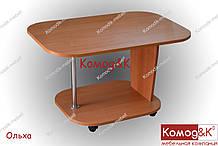 Журнальный стол Овал цвет Ольха