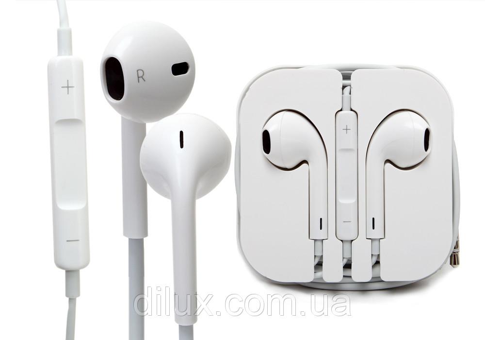 наушники гарнитура Apple Earpods Iphone 5 цена 72 грн купить в