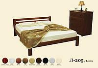 Кровать деревянная Л-205, фото 1