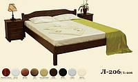 Кровать деревянная Л-206, фото 1