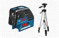 Точечный лазер Bosch GCL 25 Professional + штатив BT 150