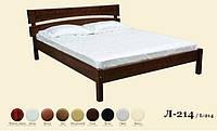 Кровать деревянная Л-214, фото 1