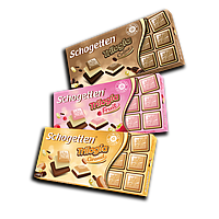Шоколад Schogetten Trilogia Caramel (Трилогія Карамель) - 100 г.