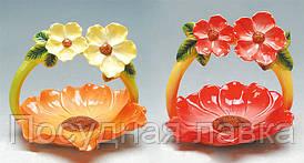 Декоративная корзинка для яиц 23см, 2 вида