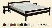 Кровать деревянная Л-220, фото 1